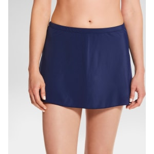 59c4845160 Women's Slimming Control Core Swim Skirt - Navy (Blue) - 10 ...