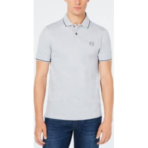 9109cdaa4459 AX Armani Exchange Men s Pique Collar Polo from Macy s.