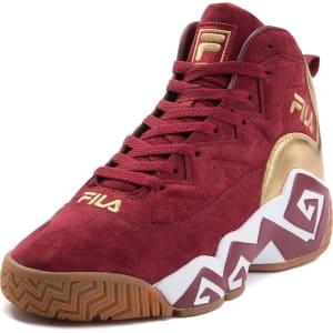 fila shoes maroon cheap online