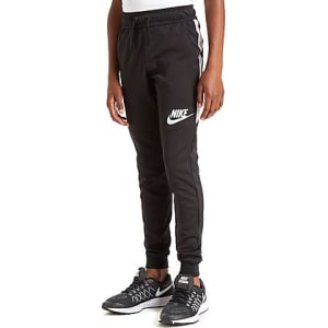 innovative design bb2f4 437cd Nike Tribute Cuff Track Pants Junior - Black White - Kids from JD ...