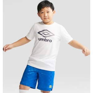 eebc9bea82d Umbro Boys  Logo Tech T-Shirt - White Xxl Husky from Target.