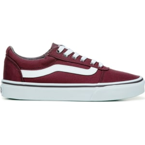 b2fa4b4b0d3f9f Vans Women s Ward Low Top Sneakers (Red White) from Famous Footwear.