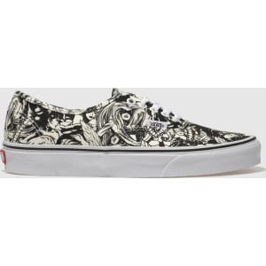 Vans Black   White Authentic Marvel Women Trainers from schuh. ced3a9a1e