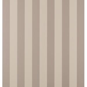 Lille Truffle Stripe Wallpaper