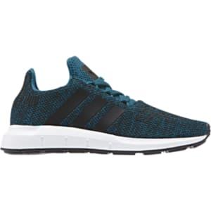 deec9081c Boys Adidas Originals Swift Run - Preschool - Grey Black White from ...