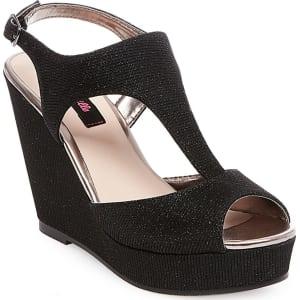 58dbcb8f42e Women s Betseyville Ryatt Glitter Mesh Platform Wedge Sandals ...