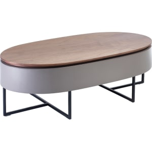 Dwell Coffee Table.Pod Lift Up Coffee Table Walnut