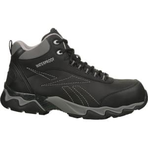 1b5deffc4cb Reebok Work Men s Beamer Composite Toe Waterproof Work Boots (Black ...