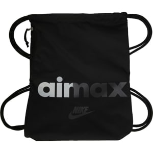 Nike Heritage Drawstring Backpack Accessories (Black) from Famous ... 0e194f2ddd7c0