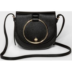 0c508b6813 Women s Ring Mini Crossbody Handbag - Who What Wear Black from Target.