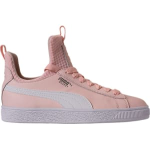 0c34e2c5904f Puma Girls  Grade School Basket Fierce Casual Shoes