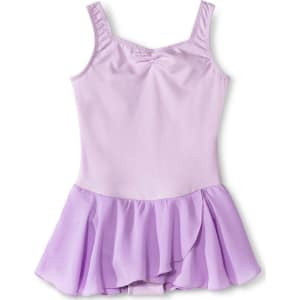 80ae19704 Danz N Motion Girls  Sweetheart Activewear Leotard Dress - Lavender ...
