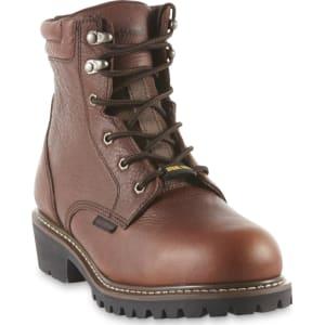 5f7d58e61bd Diehard Men's Brown Waterproof Steel Toe Work Boot, Size: 7.5