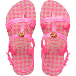 Havaianas Kids Joy Spring Ballet Rose Shocking Pink - Kids from ... 0561ebadcb13