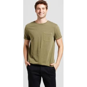 482b2d59a60e4 Men s Standard Fit Short Sleeve Garment-Dyed Crew T-Shirt ...