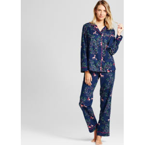e178581ebe54 Women s 2pc Pajama Set Nighttime Blue Xs from Target.