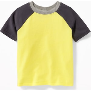 a8c9ba55d Old Navy Baby Raglan-Sleeve Color-Block Tee For Toddler Boys It ...