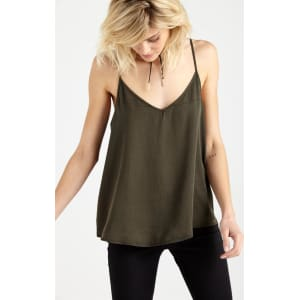 80e48db65ef364 Cotton on Women - Lily Cage Back Cami - Khaki from Cotton On.