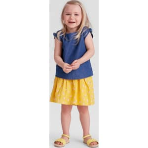 a7720465613 Toddler Girls  Smocked Top and Seersucker Skirt Set - Genuine Kids From  Oshkosh 5t