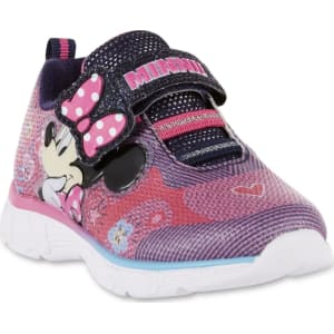 b14dc2eae8e85 Disney Toddler Girls  Minnie Mouse Light-Up Athletic Shoe