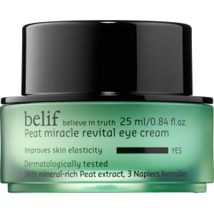 Belif Eye Cream - Peat Miracle Revital Formula Reduces Fine Lines & Wrinkles Magic Shave Bump Rescue Exfoliating Cleanser 5 Fl Oz + Spot Treatment, 0.33 oz + Old Spice Deadlock Spiking Glue, Travel Size, .84 Oz