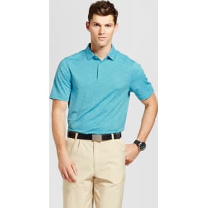 f0900503f Men s Spacedye Golf Polo - C9 Champion - Turquoise Blue L from Target.