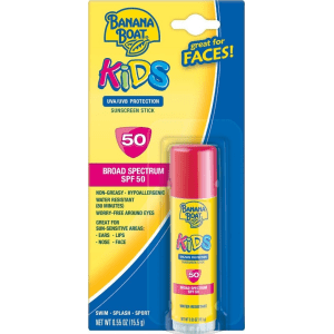 Banana Boat Kids Sunscreen Stick - Spf 50 -  55oz
