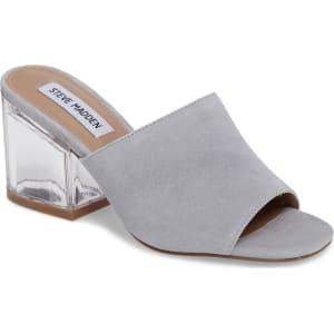 6dd65965198 Women s Steve Madden Dalis Clear Heel Slide Sandal