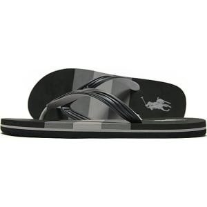 8b1f8c627f53 Polo Ralph Lauren Whitlebury Ii Flip Flops - Black - Mens from JD ...