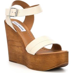 029d4fafb93 Steve Madden Belma Leather Wedge Sandals from Dillard s.