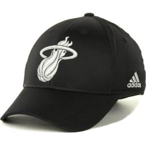 Miami Heat Adidas Nba Tactel Lights Flex Cap
