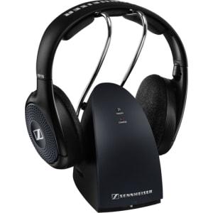 Sennheiser - Rs 135 Over-The-Ear Wireless Headphones - Black
