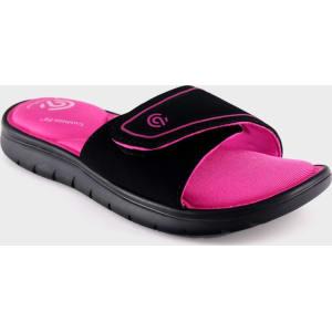 a74c5e956ac Girls  Valma Sport Memory Foam Slide Sandals - C9 Champion Black L ...
