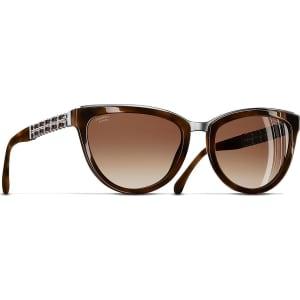 5d4907a4a3 Chanel Cat Eye Sunglasses Tortoise Sunglasses from Sunglass Hut.