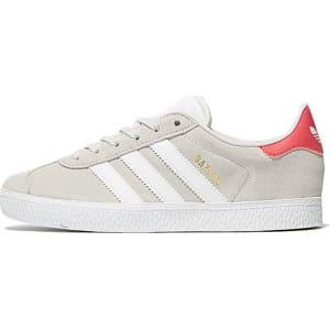 9778c86f Adidas Originals Gazelle Ii Children - Grey/Pink - Kids from JD Crosstown  Running.