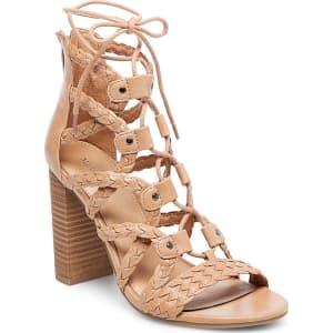 73809c2fb4 Women's Kolbi Braided Ghillie Heeled Gladiator Sandals - Merona ...