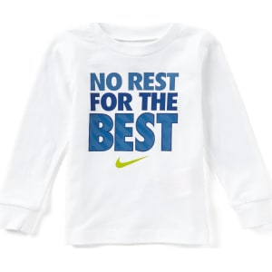 41b7b282d Nike Baby Boys 12-24 Months No Rest For The Best Long-Sleeve Tee ...