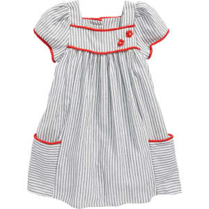 869e2bc21 Girl's Pastourelle by Pippa and Julie Stripe House Dress from Nordstrom.