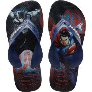 566bb5fea17f5 Havaianas Kids Max Dc Comics Heroes Batman   Superman Flip Flops ...
