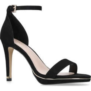 59a7f2672aa Carvela Leo - Black Stiletto Heeled Strappy Sandals from Kurt Geiger.