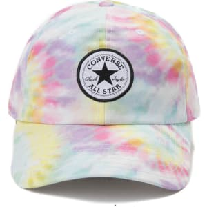 91fede705dff2 Converse Chuck Taylor Logo Patch Tie Dye Dad Hat from Journeys.