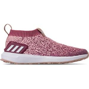 competitive price e4f03 a6dcb Adidas Girls' Preschool Rapidarun Laceless Running Shoes, Pink