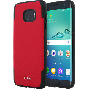 sports shoes 455ff e9f64 Coated Canvas Co-Mold Case for Samsung Galaxy S7 Edge - Red