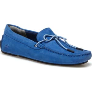 1dfec2799 Lacoste Men s Piloter Corde Suede Loafers - Blue from Lacoste.