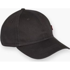 3864f253be5f30 Levis-Classic Twill Red Tab Baseball Cap-Black from Levi's®.