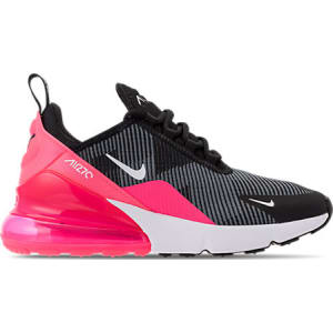 buy online 9d897 12d17 Nike Girls' Grade School Air Max 270 Kjcrd Casual Shoes, Pink/Black