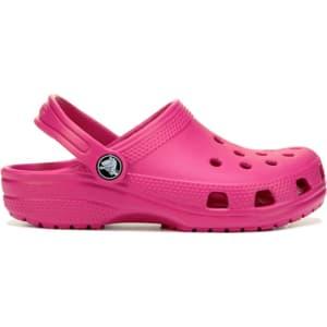 e497e5cd5d21 Crocs Kids  Classic Clog Toddler Preschool Sandals (Candy Pink) from ...