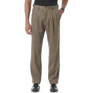 5d1196278b02b7 Dockers Men's Comfort Khaki Relaxed Fit Cuffed Pants - Pleated D4 ...