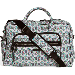 Vera Bradley Iconic Weekender Travel Bag in Paisley Stripes from ... 8f4a0ead320c7