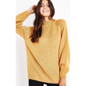 940d63fc56b Mustard Yellow Ribbed Cuff Jumper New Look from New Look.